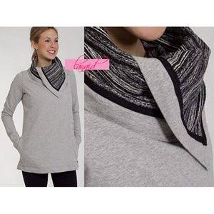 lululemon athletica sweaters  lululemon savasana wrap